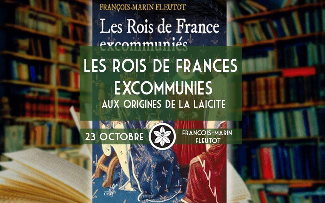 Conférence du 23/10 : Les Rois de France excommuniés, aux origines de la laïcité
