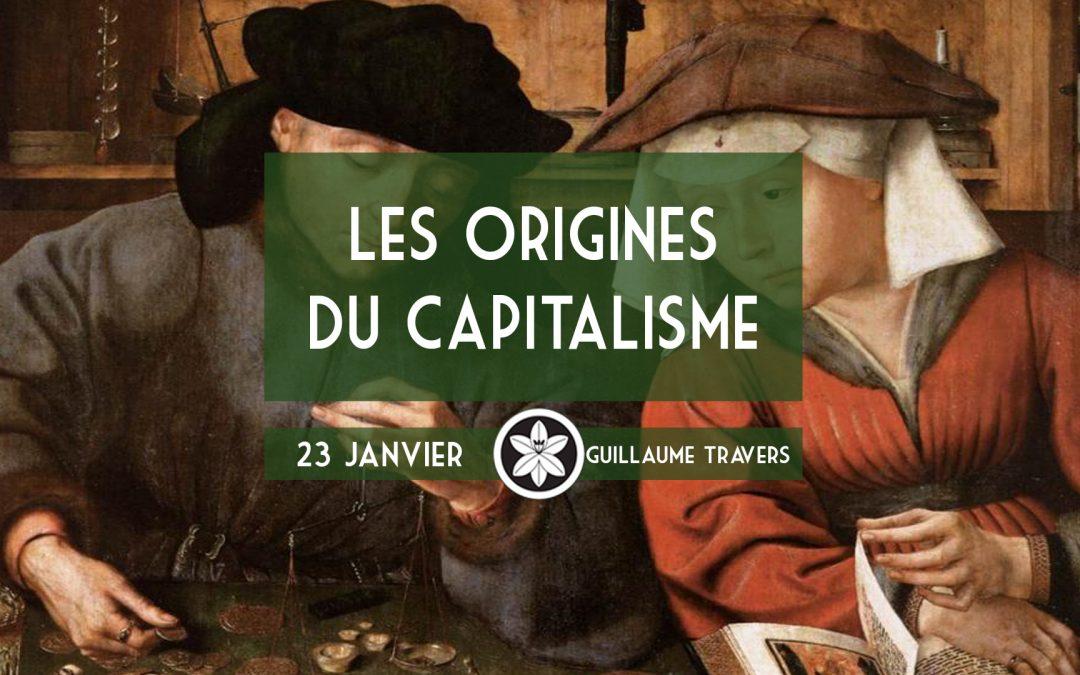 Conférence Dextra du 23/01 : Les origines du capitalisme