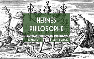 "Conférence Dextra du 06/03 : ""Hermès philosophe"""