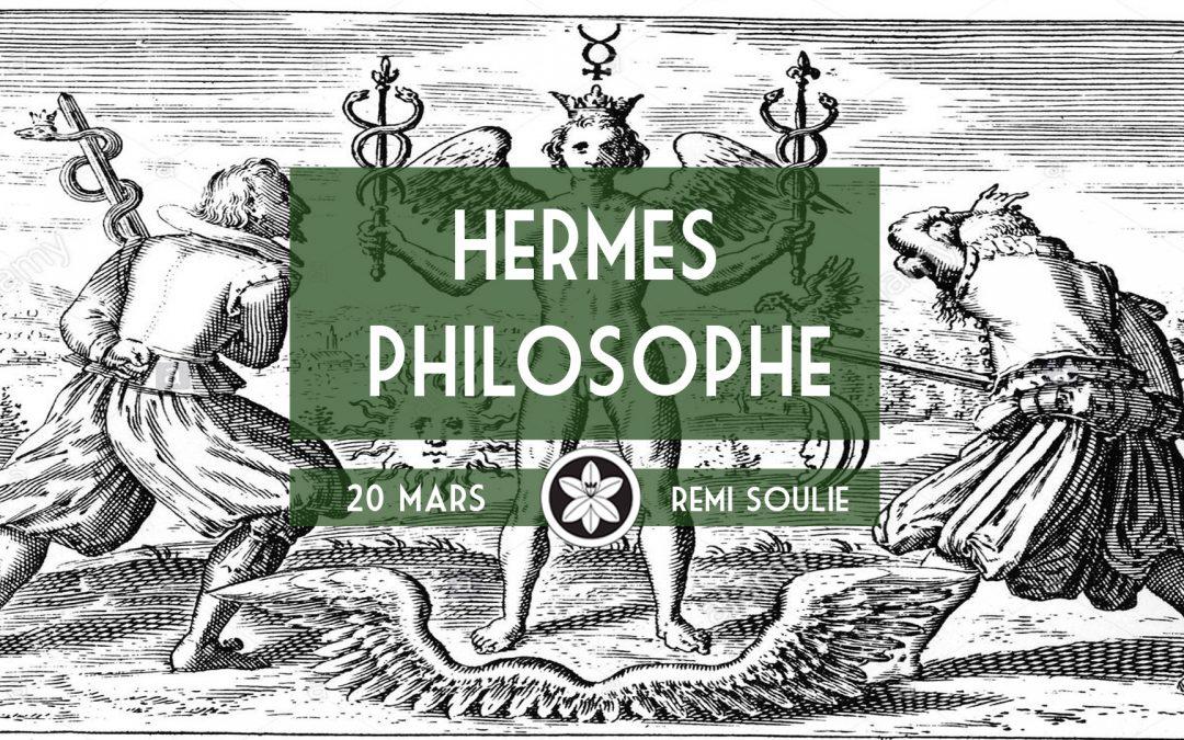 "Conférence Dextra du 20/03 : ""Hermès philosophe"""