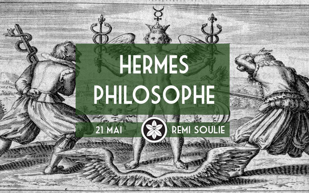 "Conférence Dextra du 21/05 : ""Hermès philosophe"""