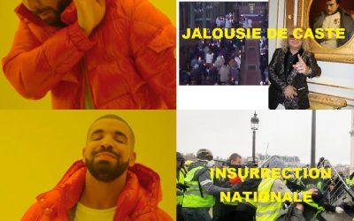 Insurrection nationale contre jalousie de caste