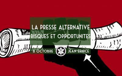 Conférence Dextra du 08/10 : La presse alternative, risques et opportunités